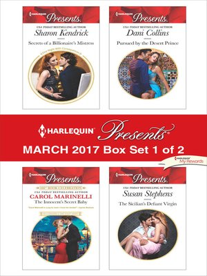 cover image of Harlequin Presents March 2017, Box Set 1 of 2