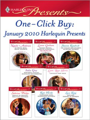 cover image of One-Click Buy: January 2010 Harlequin Presents