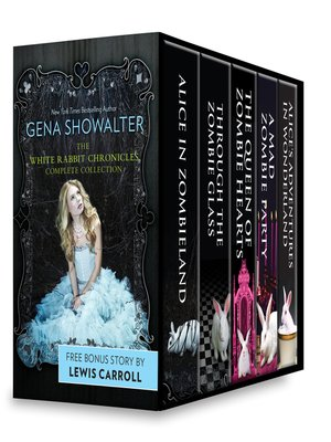 cover image of Gena Showalter White Rabbit Chronicles Complete Collection