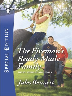 cover image of The Fireman's Ready-Made Family