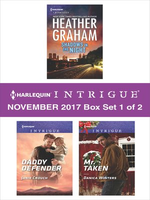 cover image of Harlequin Intrigue November 2017--Box Set 1 of 2