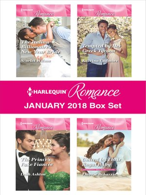 cover image of Harlequin Romance January 2018 Box Set