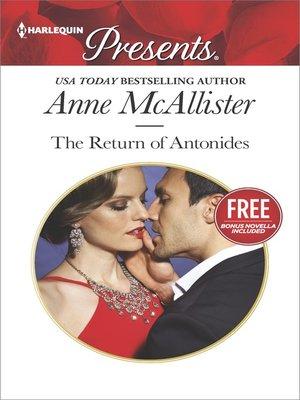 cover image of The Return of Antonides: Christmas at the Castello (bonus novella)