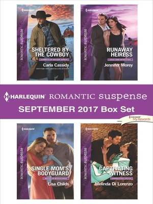 cover image of Harlequin Romantic Suspense September 2017 Box Set