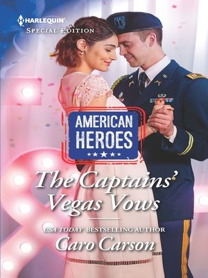 cover image of The Captains' Vegas Vows