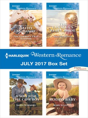cover image of Harlequin Western Romance July 2017 Box Set