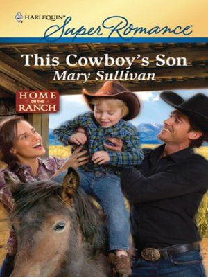 cover image of This Cowboy's Son