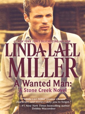 cover image of A Wanted Man: A Stone Creek Novel