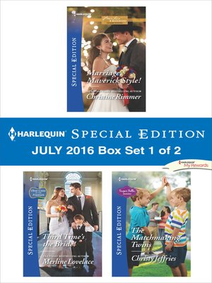cover image of Harlequin Special Edition July 2016 Box Set 1 of 2