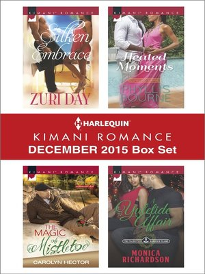 cover image of Harlequin Kimani Romance December 2015 Box Set