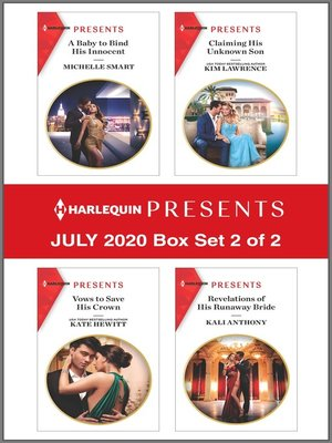 cover image of Harlequin Presents--July 2020--Box Set 2 of 2