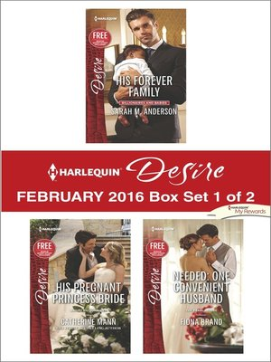 cover image of Harlequin Desire February 2016, Box Set 1 of 2