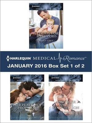 cover image of Harlequin Medical Romance January 2016, Box Set 1 of 2