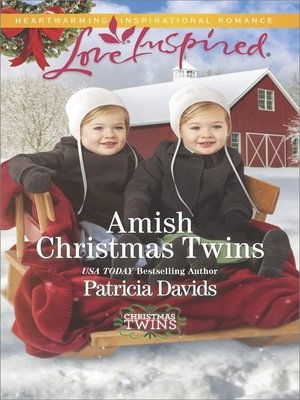 cover image of Amish Christmas Twins