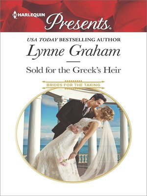 cover image of Sold for the Greek's Heir--A sensual story of passion and romance