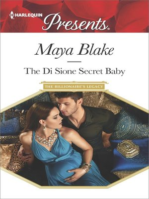 cover image of The Di Sione Secret Baby--A Secret Baby Romance