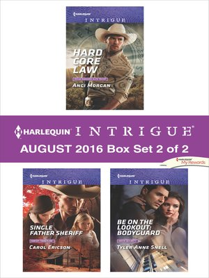 cover image of Harlequin Intrigue August 2016, Box Set 2 of 2