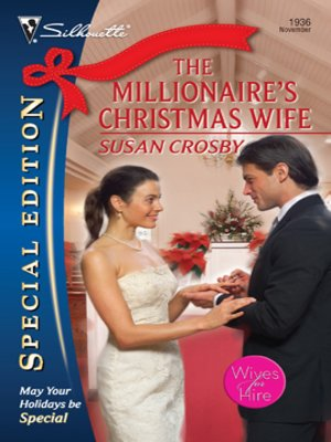 cover image of Millionaire's Christmas Wife