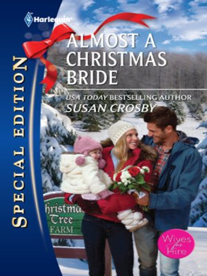 cover image of Almost a Christmas Bride