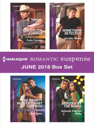 cover image of Harlequin Romantic Suspense June 2018 Box Set