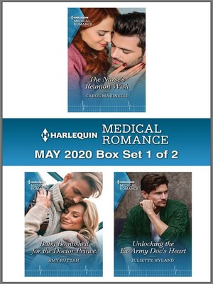 cover image of Harlequin Medical Romance May 2020--Box Set 1 of 2