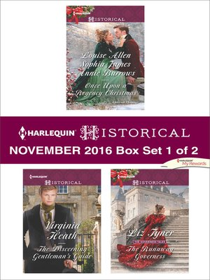 cover image of Harlequin Historical November 2016, Box Set 1 of 2