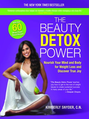 cover image of The Beauty Detox Power: Nourish Your Mind and Body for Weight Loss and Discover True Joy