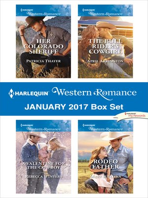 cover image of Harlequin Western Romance January 2017 Box Set