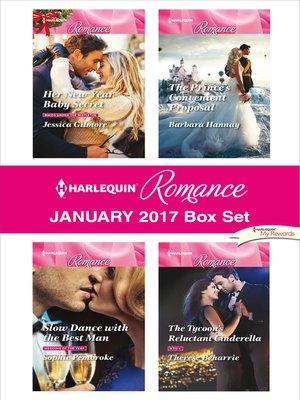 cover image of Harlequin Romance January 2017 Box Set