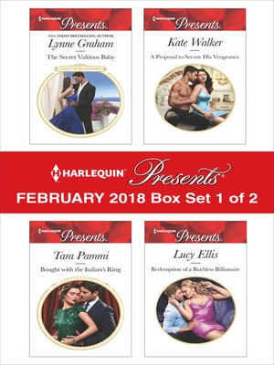 cover image of Harlequin Presents February 2018--Box Set 1 of 2