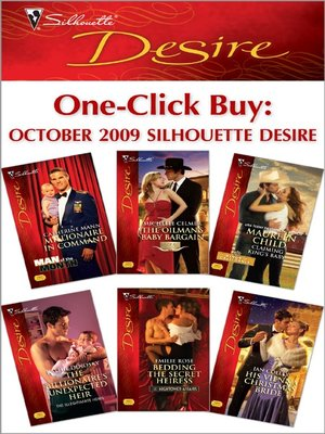 cover image of One-Click Buy: October 2009 Silhouette Desire