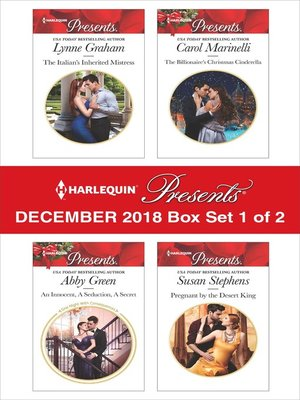 cover image of Harlequin Presents December 2018, Box Set 1 of 2