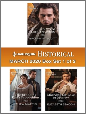 cover image of Harlequin Historical March 2020--Box Set 1 of 2