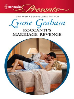 cover image of Roccanti's Marriage Revenge
