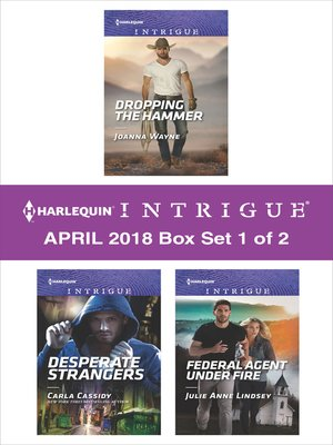 cover image of Harlequin Intrigue April 2018--Box Set 1 of 2