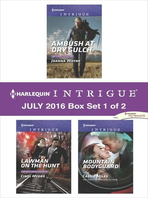 cover image of Harlequin Intrigue July 2016, Box Set 1 of 2