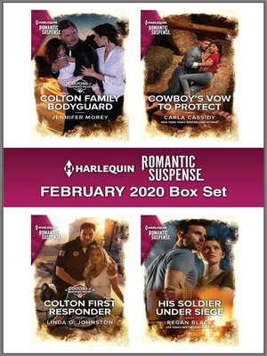 cover image of Harlequin Romantic Suspense February 2020 Box Set