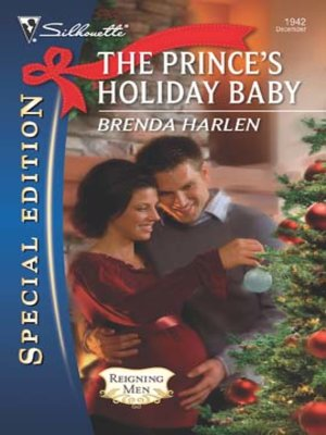 cover image of Prince's Holiday Baby
