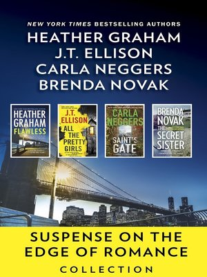 cover image of Suspense on the Edge of Romance Collection--An Anthology