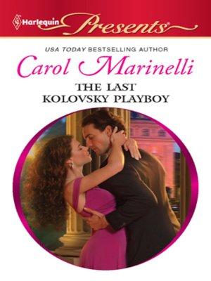 cover image of The Last Kolovsky Playboy