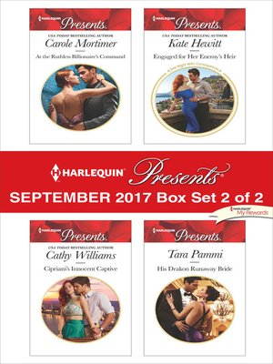 cover image of Harlequin Presents September 2017, Box Set 2 of 2