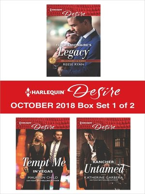 cover image of Harlequin Desire October 2018 Box Set--1 of 2