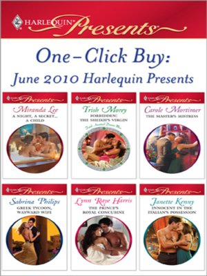 cover image of One-Click Buy: June 2010 Harlequin Presents