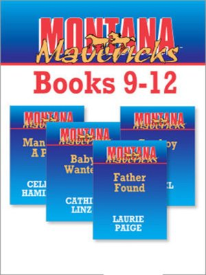 cover image of Montana Mavericks Books 9-12