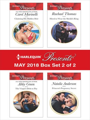 cover image of Harlequin Presents May 2018--Box Set 2 of 2