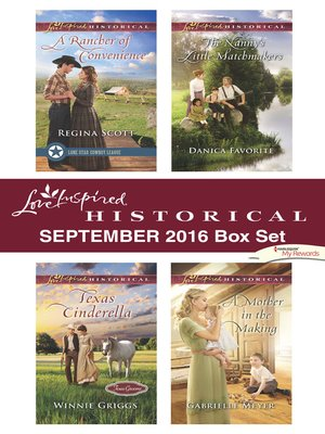 cover image of Harlequin Love Inspired Historical September 2016 Box Set