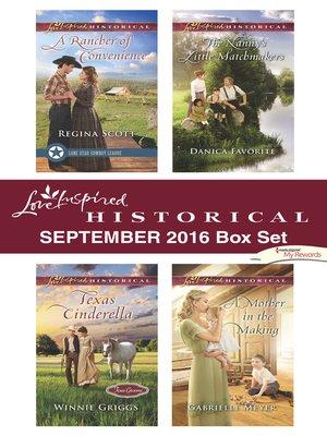 cover image of Harlequin Love Inspired Historical September 2016 Box Set