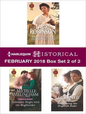 cover image of Harlequin Historical Feburary 2018--Box Set 2 of 2