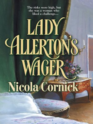 cover image of Lady Allerton's Wager