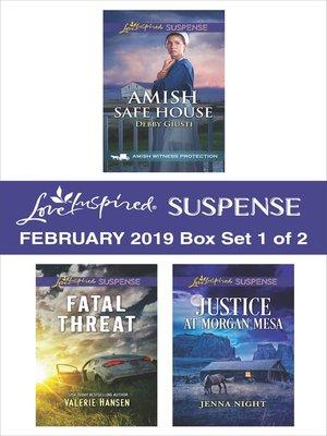 cover image of Harlequin Love Inspired Suspense February 2019, Box Set 1 of 2